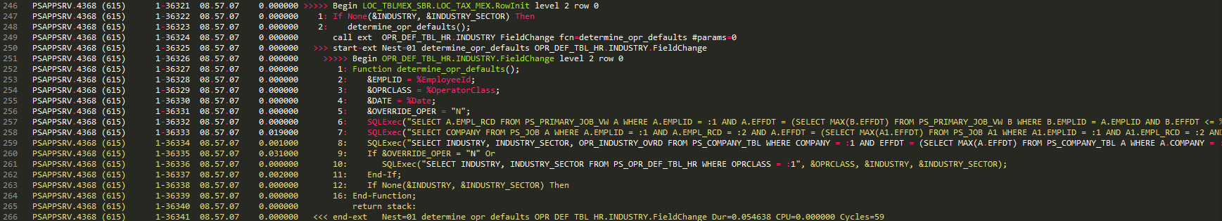 Messed up syntax highlighting